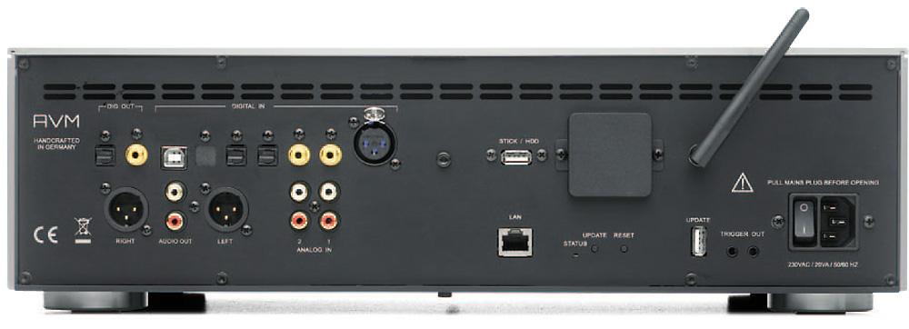 AVM SD 5.2 - panel tylny