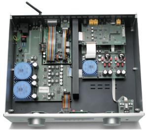 AVM 5.2 w środku