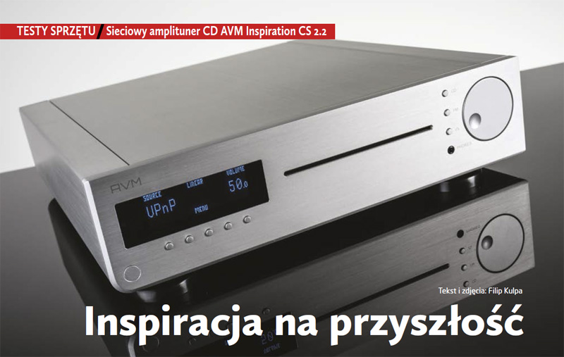 Test AVM Inspiration CS 2.2 w Audio Video
