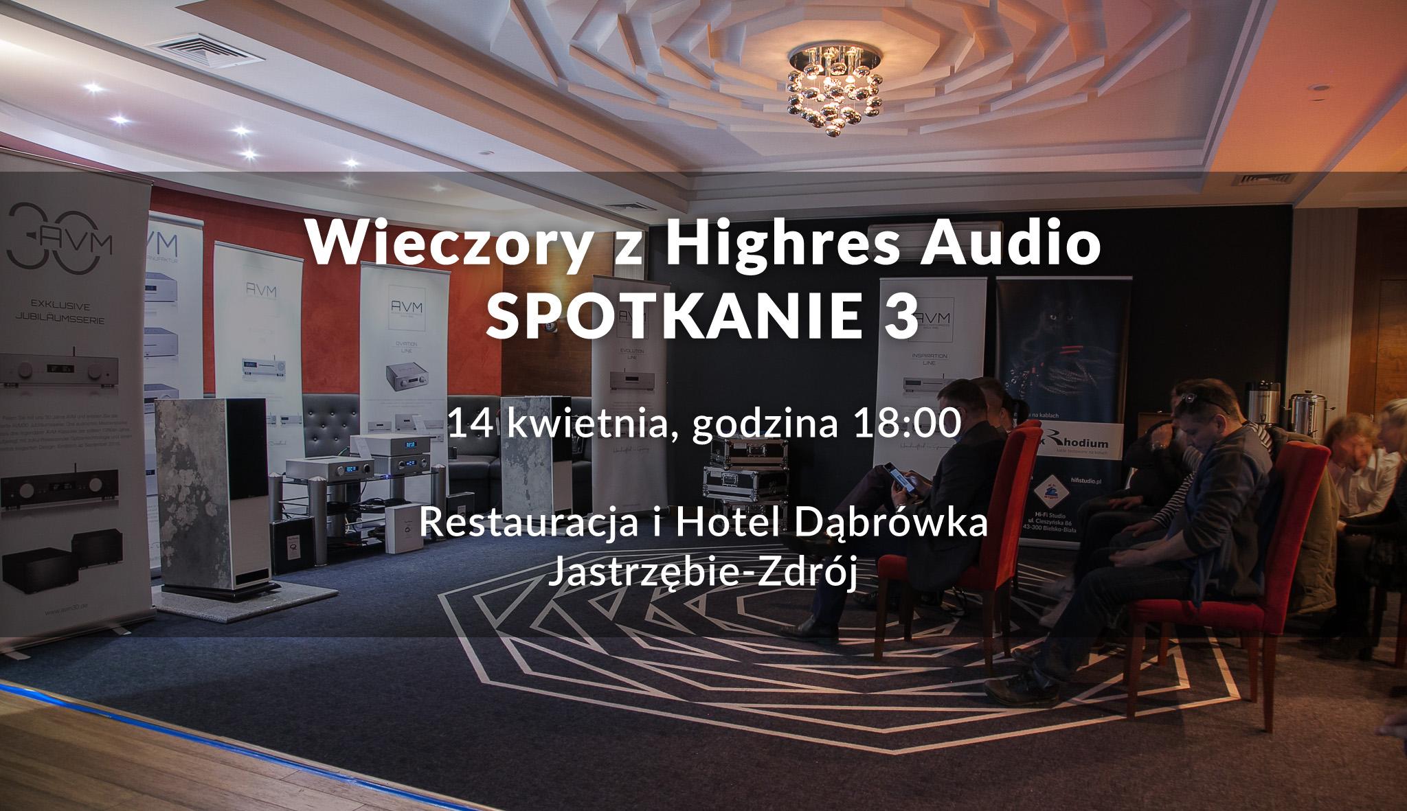Spotkania Warsztaty Tidal Highres Audio AVM