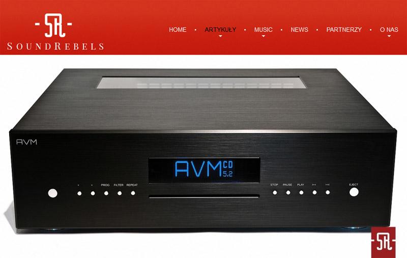 Soundrebels - test AVM CD 5.2