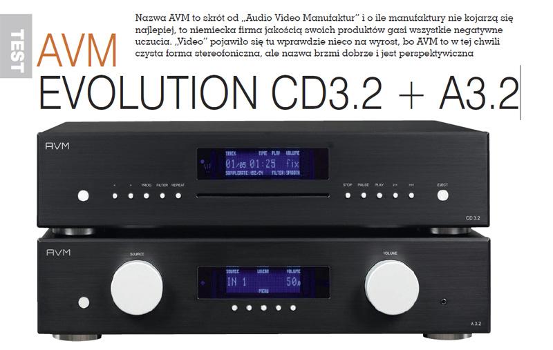 AVM Evolution CD3.2 + A3.2