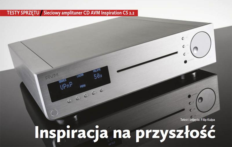 Test AVM Inspiration CS 2.2 w Audio Video